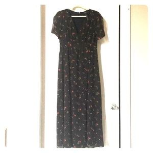 Madewell Floral Maxi Dress - size 8